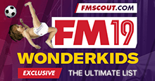 Football Manager 2019 Wonderkids - Guide to FM 2019 Wonderkids