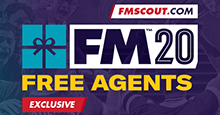 Football Manager 2020 Best Free Players - FM20 Top Free Agents