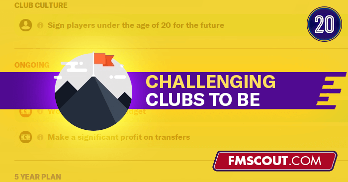 Fm20 Challenging Teams To Be On Football Manager 2020 Fm Scout