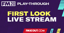 Football Manager 2020 Live Stream - FM20 First Look