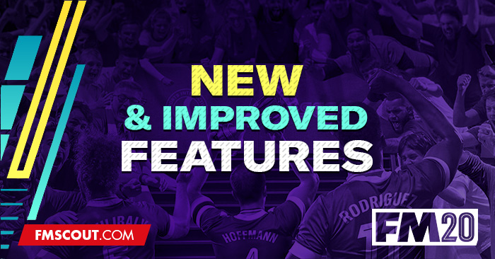 News - Football Manager 2020 New Features