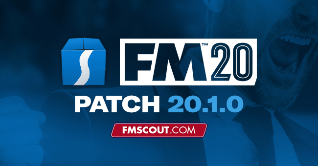 Football Manager 2020 Patch 20 1 0 Hotfix Update For Beta