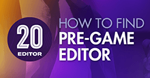 How to find & download the official FM20 Pre-Game Editor