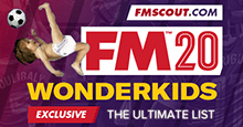 Football Manager 2020 Wonderkids - Guide to FM 2020 Wonderkids