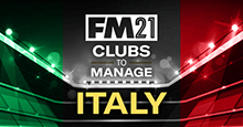 FM21 Clubs to Manage: Italy