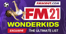 Football Manager 2021 Wonderkids - Guide to FM 2021 Wonderkids