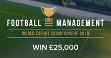 Bidstack Football Management Esports World Championship 2018