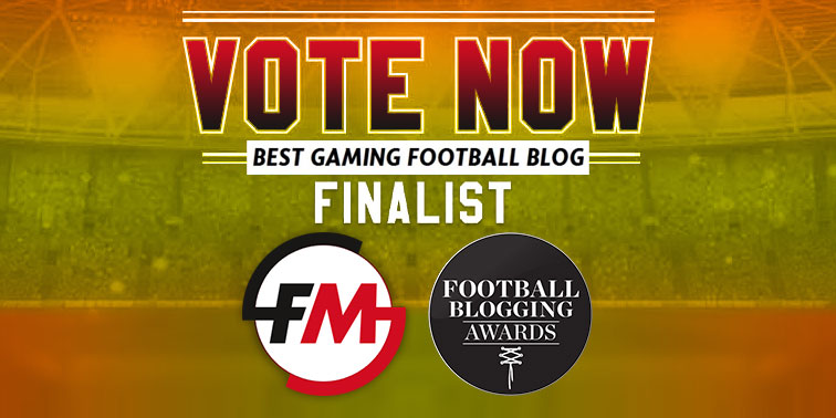 News - FM Scout made the finals at the Football Blogging Awards