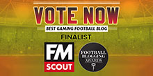 FMScout made the finals at the Football Blogging Awards 2018