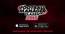 Football Manager Classic 2015 for tablets