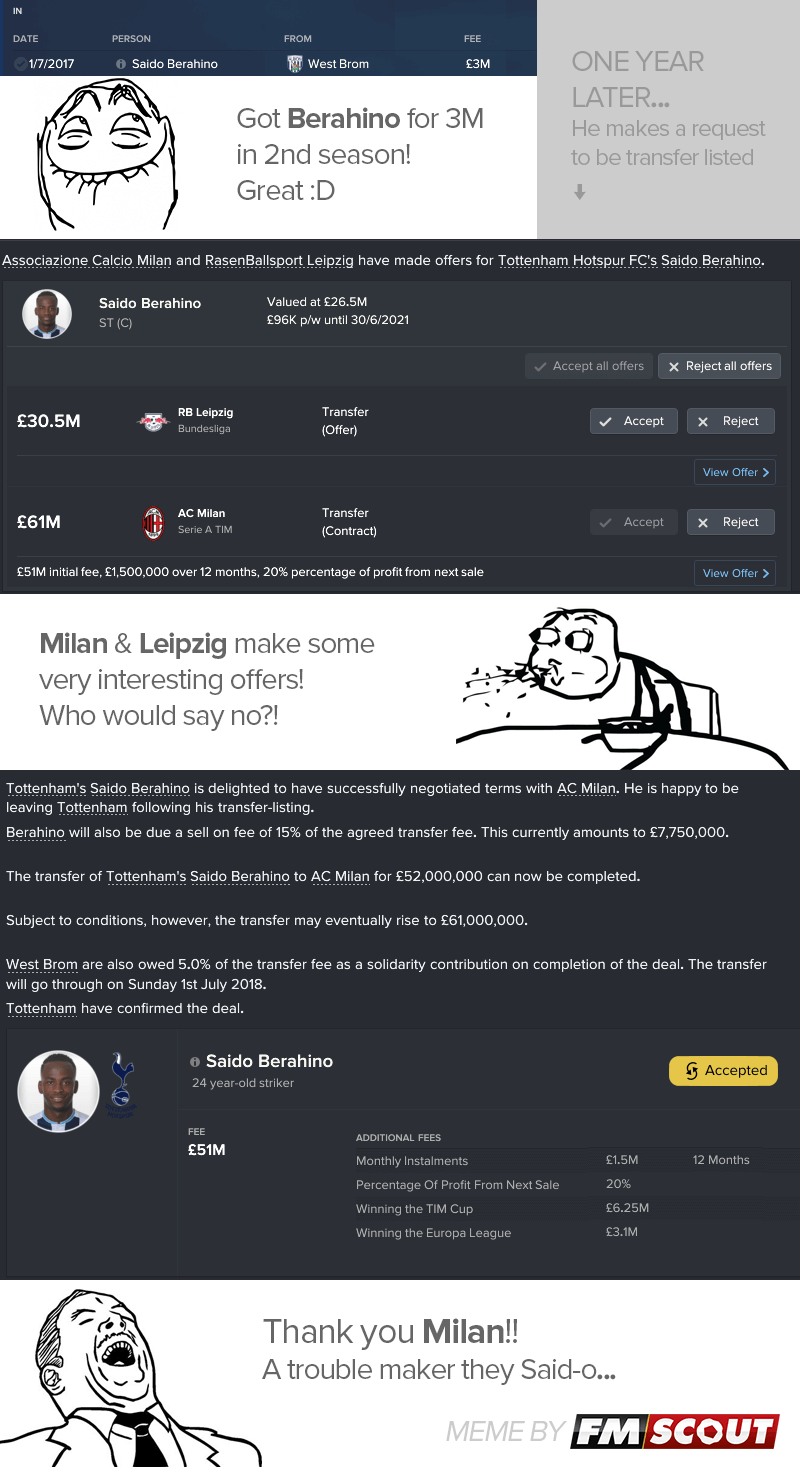 FM Funny Pages - Signing a star player who proves to be a trouble maker