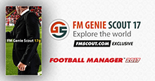 FM Genie Scout for FM17 is confirmed