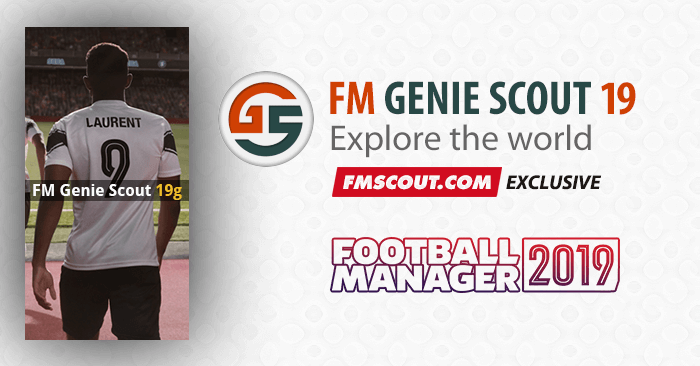 News - FM Genie Scout for FM19 is confirmed