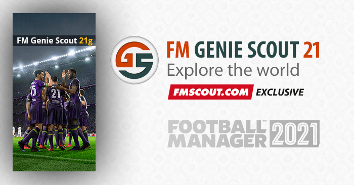 News - FM Genie Scout for FM21 is confirmed