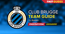 Club Brugge guide for FM17 - A tiny giant