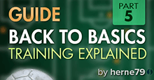 Back to Football Managers Basics - 05 - Training Explained