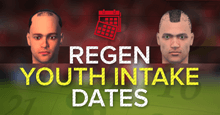 Football Manager 2017 Regen / Newgen Youth Intake Dates