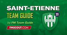 AS Saint-Etienne Guide for FM20