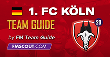 FC Koln - Team Guide for FM20