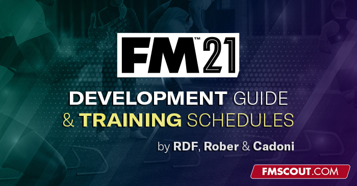 Football Manager Guides - RDF Training Schedules & Development Guide for FM21