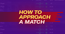How to approach a match from start to finish on Football Manager