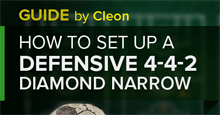 How to set up a Defensive 4-4-2 Diamond Narrow on Football Manager