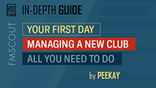 Managing a New Club - FM 2021 Guide