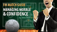 Match Guide: Managing morale and confidence
