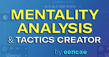 Mentality Analysis and the Football Manager Tactics Creator
