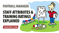 Football Manager Basics: Staff Attributes and Training Ratings Explained