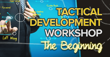 Tactical Development Workshop - THE BEGINNING: Sunderland
