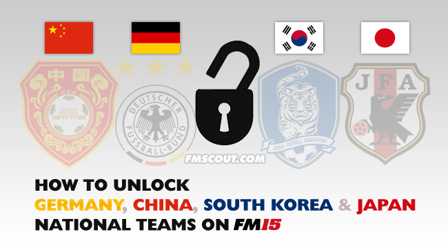 FM Tutorials - How to unlock Germany national team on FM15