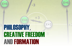 Philosophy, creative freedom and formation