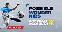 Football Manager 2020 Possible New Wonderkids