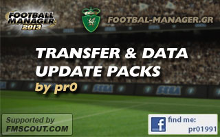 FM13 Transfer & Data Update Packs by pr0