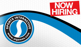 Sports Interactive now hiring!