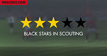Scouting Reports: Why do some players have black stars?