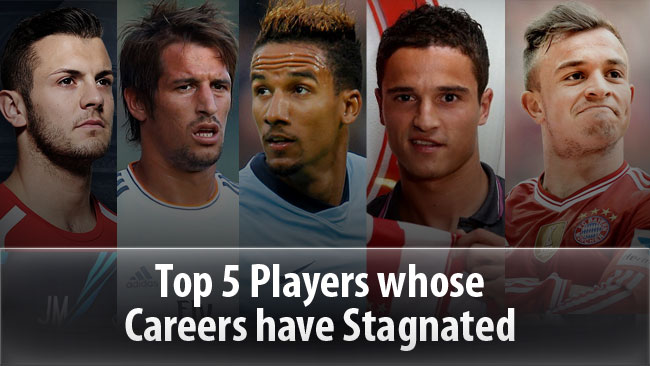 Football Views - Top 5 Players whose Careers have Stagnated
