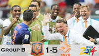 Devastating Dutch humiliate World Champions Spain