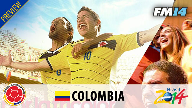 World Cup 2014 - WC2014 Colombia Preview