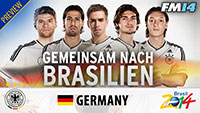 WC2014 Germany Preview