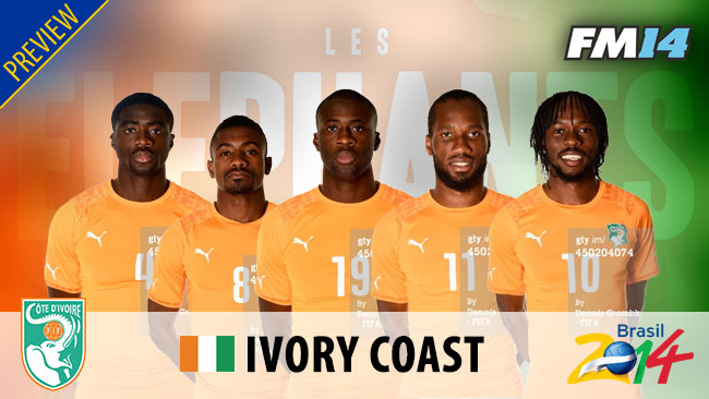 World Cup 2014 - WC2014 Ivory Coast Preview