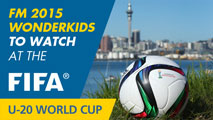 FM 2015 Wonderkids to watch at the U-20 World Cup New Zealand