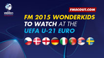 FM 2015 Wonderkids to watch at the U-21 Euro Czech Republic