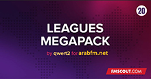 Leagues Megapack 2020 (225 Country) by qwert2 arabFM.net