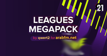 Leagues Megapack 2021 by qwert2 arabFM.net