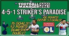 LSPlaysFM's 4-5-1 Striker's Paradise – Kane 76 Goal Season & 86% Win Rate!