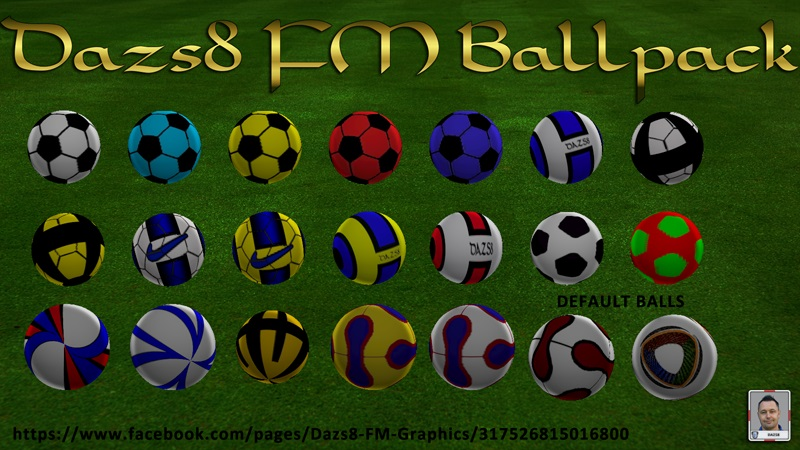 Dazs8 Ballpack for FM13