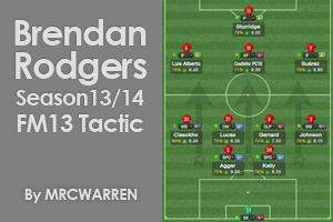 Brendan Rodgers Season13/14 Tactic