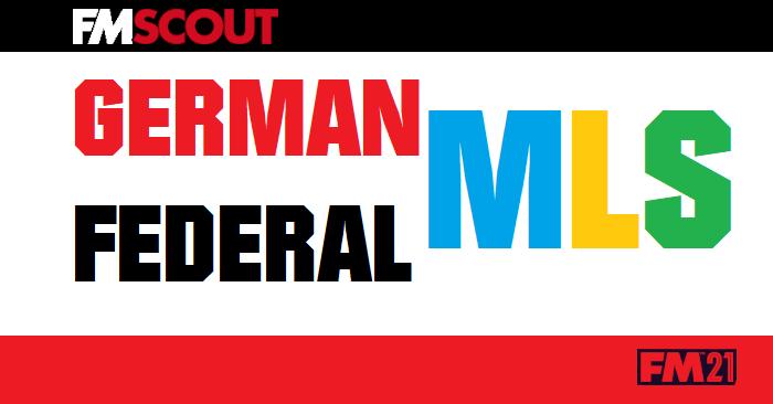 Football Manager 2021 Database - German Federal MLS FM 21 Database